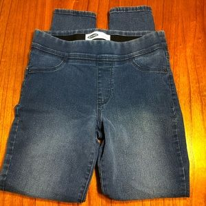 Old Navy super skinny pull on jeans